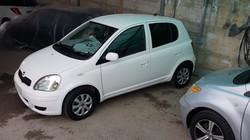 Toyota Vitz White 02