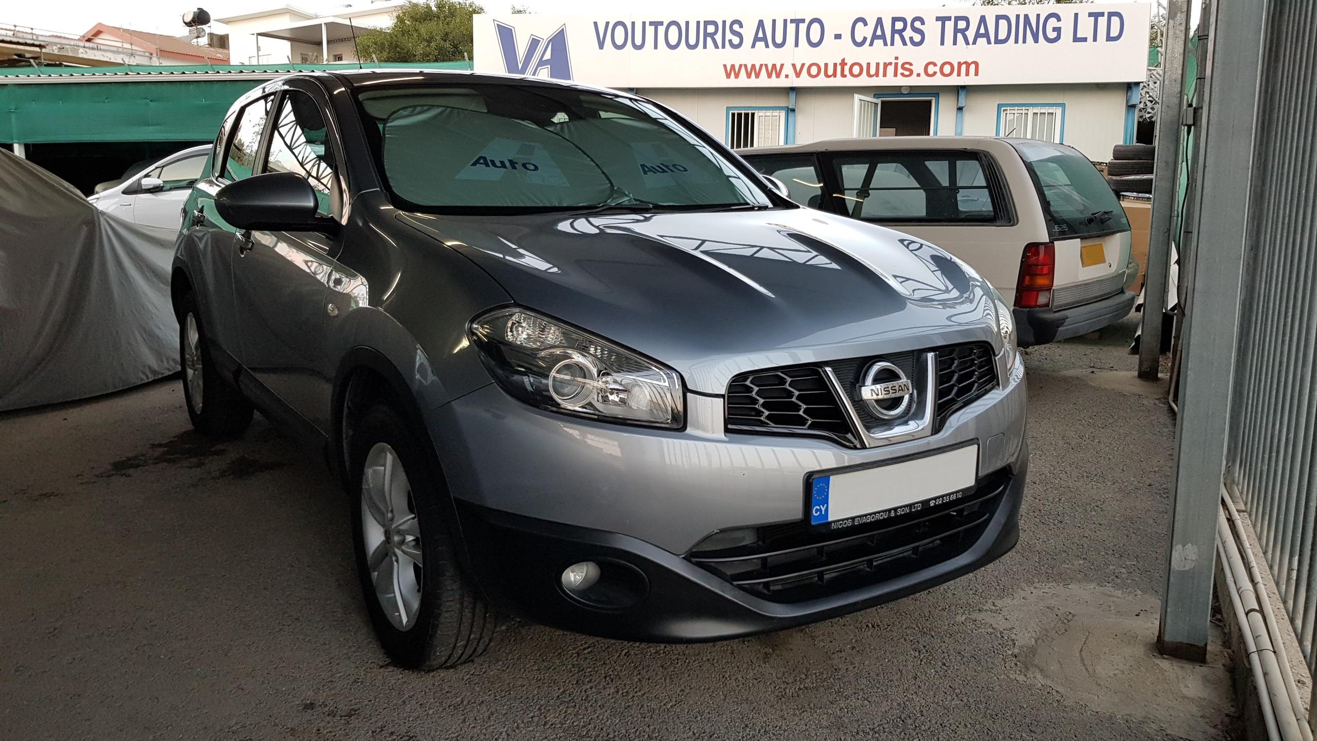 Nissan Qashqai Light Grey 01