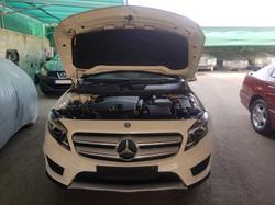 Mercedes GLA200d White 12