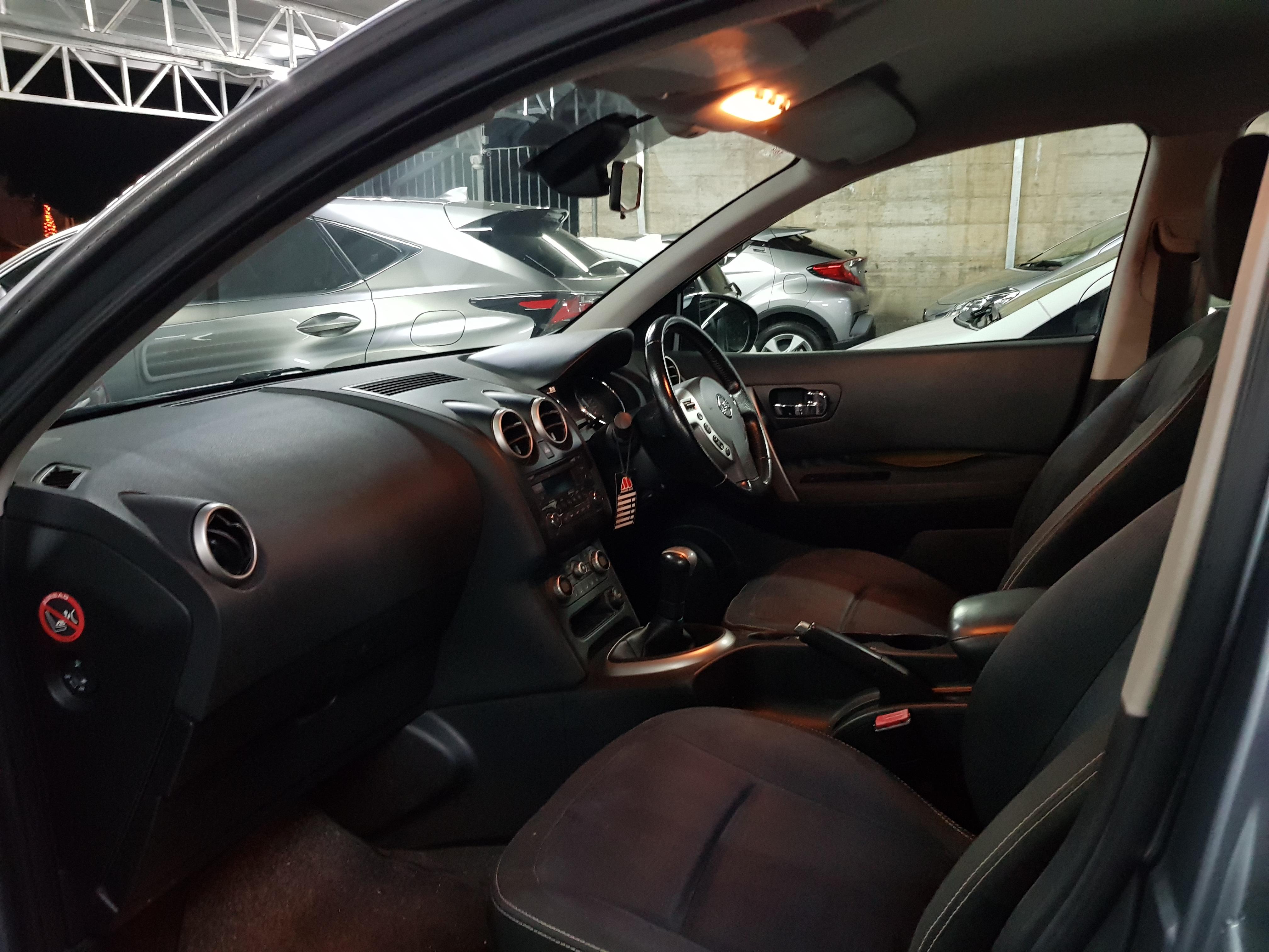 Nissan Qashqai Light Grey 06
