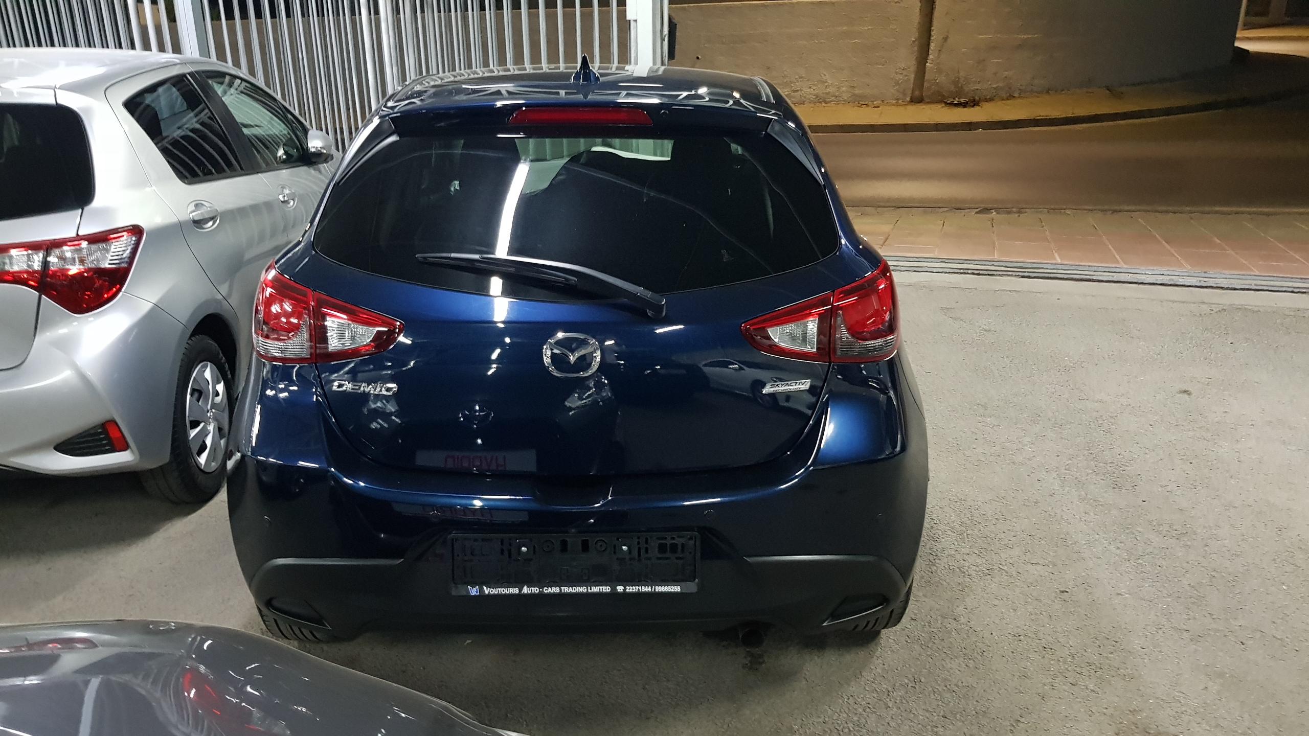 Mazda Demio 2018 Dark Blue 07
