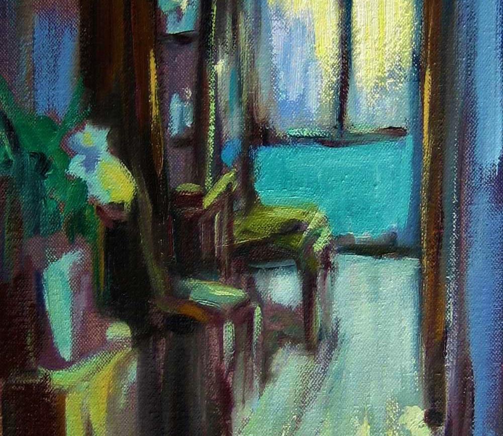 Interior blau