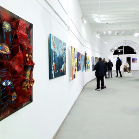 Winners Exhibition of Paint Contest