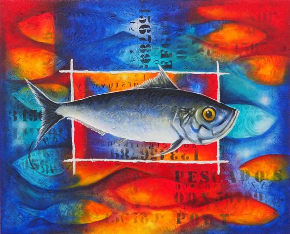 Composición con pescado