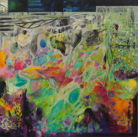 "Espacio deseado XX. ""Winner of the Emerging Painting Competition 2021"""