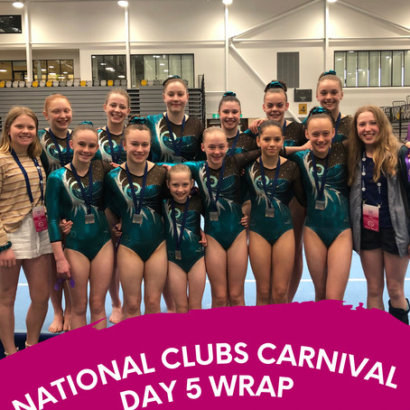 National Clubs Carnival - Day 5 Wrap