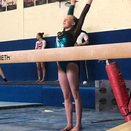 First Junior International gymnast at Eclipse - Kiralee Blythe