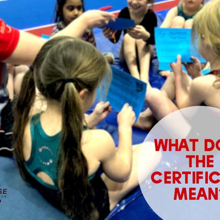 De-coding Your Child's Certificate