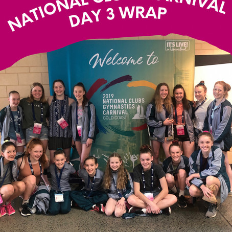 National Clubs Carnival - Day 3 Wrap