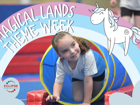 The Magic in Gymnastics - Magical Lands Theme Week