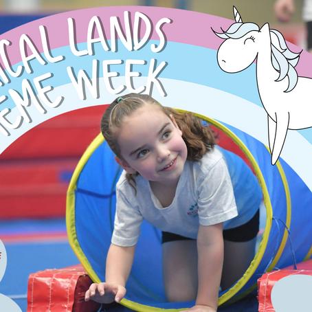 The Magic in Gymnastics - Magical Lands Theme Week