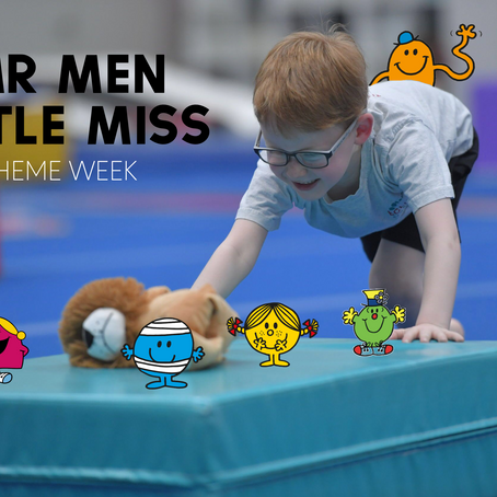 Why gymnastics is awesome for every type of Mr Men and Little Miss!