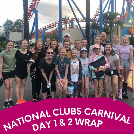 National Clubs Carnival - Day 1 & 2 Wrap