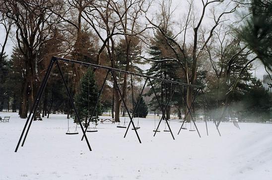 Swings   Central Park, 2018