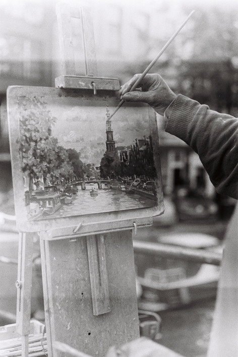 The Painter | Amsterdam, 2015