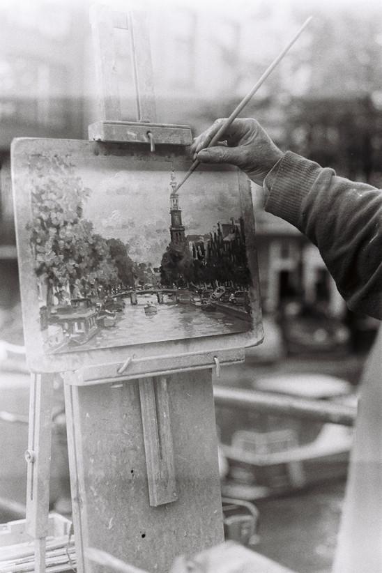 The Painter   Amsterdam, 2015
