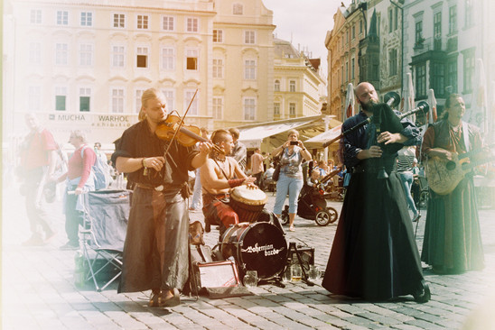 Gypsies   Prague, 2015