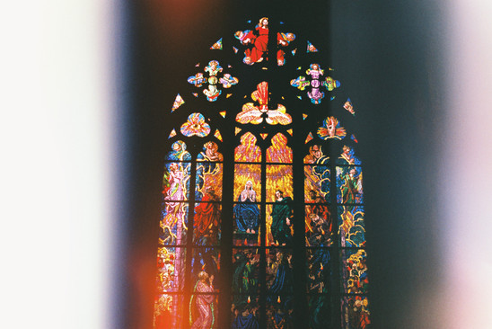 Stained Glass   Prague, 2015