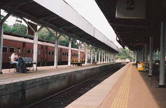 Train Station   Sri Lanka, 2018