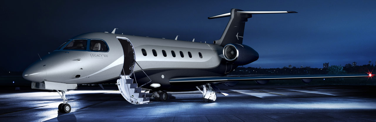 Legacy 500 on ground