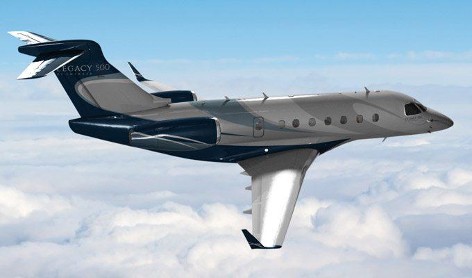 Legacy-500 in air