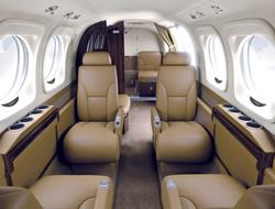 King Air 90 Interrior