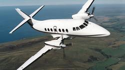 Jetstream 32 flying