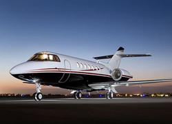 Hawker 1000 on ground