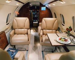 Learjet-55-Interior