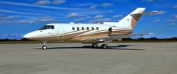 Hawker 800 On Ground