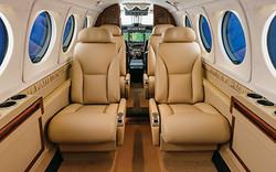 King Air 250 Interrior
