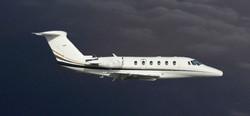 Citation III flying