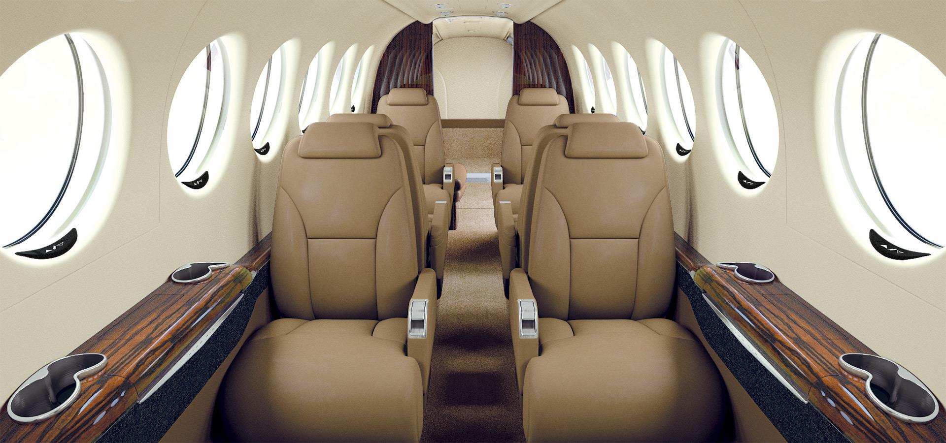 King Air 350 Interrior