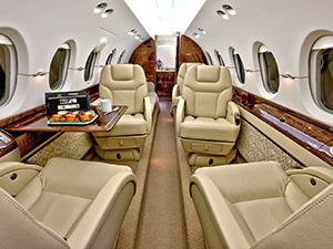 Hawker 800 interrior