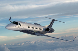 Legacy 600 flying
