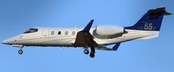 Lear 55 Flying