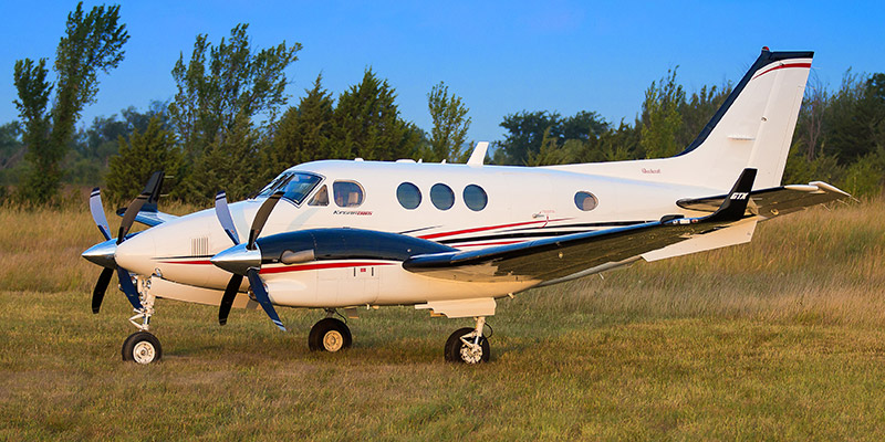 King Air 90 Exterrior