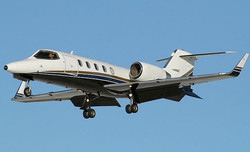 Lear 31 Flying