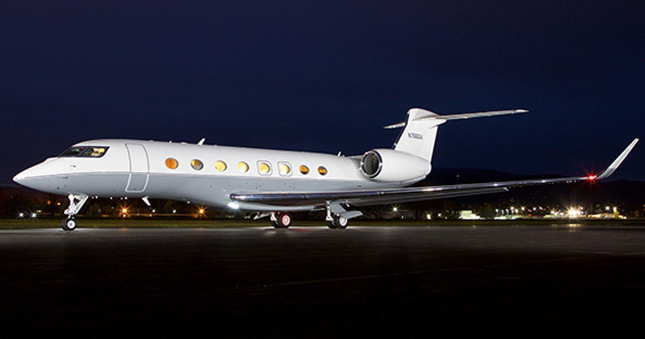 G650 On Ground