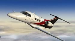 Phenom 100 Flying