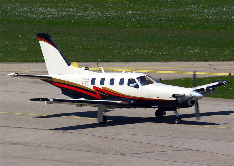 TBM 850 on the ground