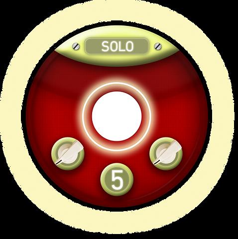Midi control sticker