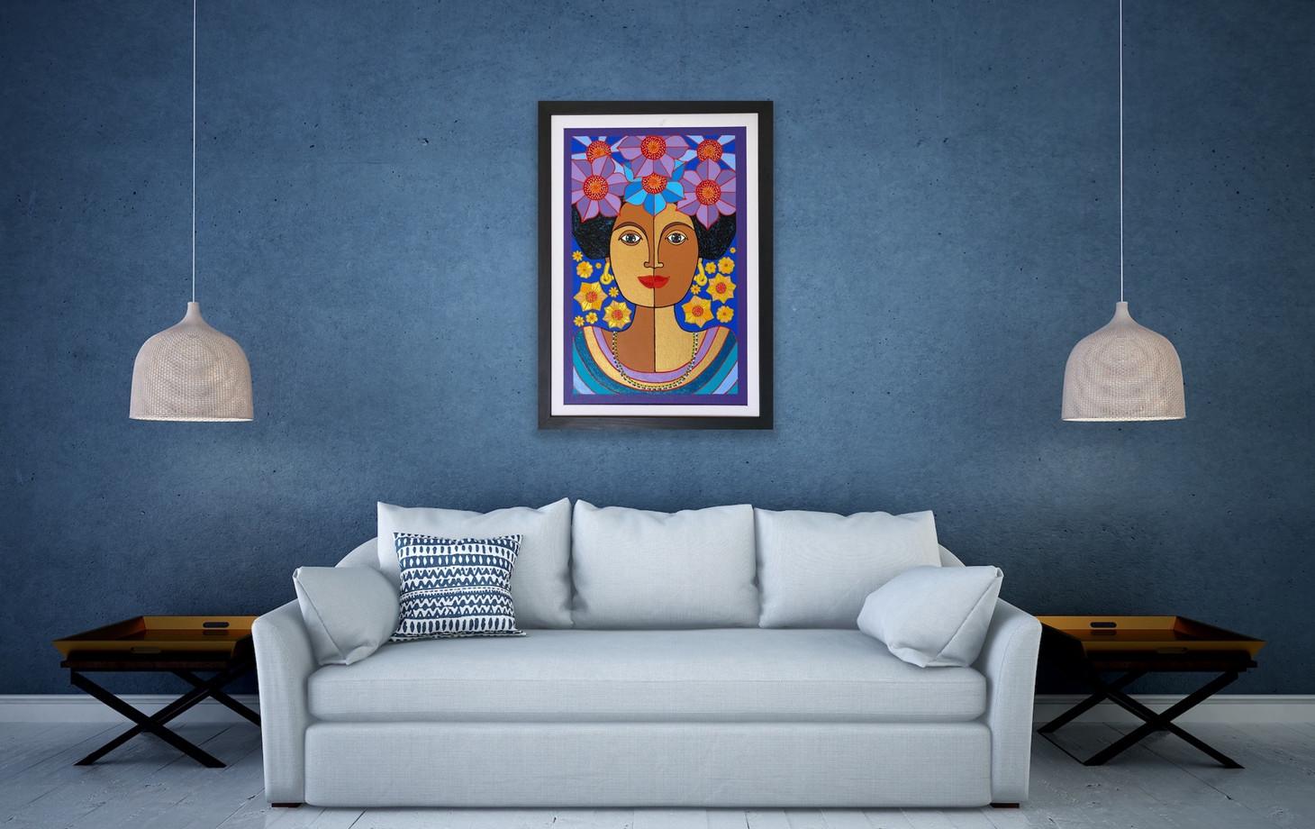 goddess of peace by Nancy Reyes art  (4)
