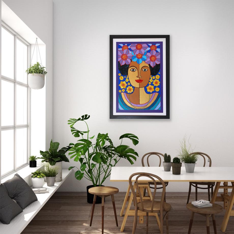 goddess of peace by Nancy Reyes art  (5)