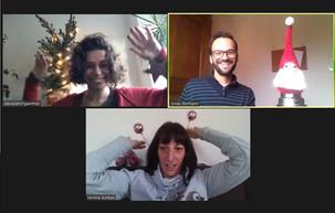 Das Starke Veedel Team Meschenich verabschiedet sich und wünscht schöne Feiertage!