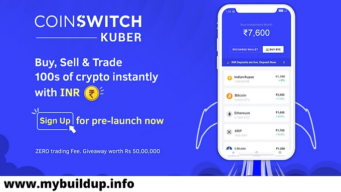 लूट लो CoinSwitch – Signup & Instantly Get Free ₹50 Bitcoins + ₹50/ Refer | Proof