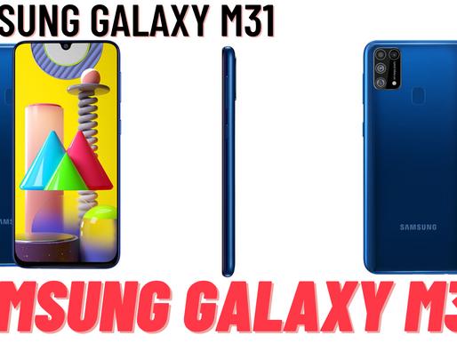 सैमसंग गैलेक्सी एम31  Samsung Galaxy M31