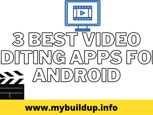 3 Best Video Editing Apps For Android  2020 [Hindi]