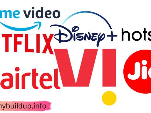 Jio-Airtel-Vi: इन रिचार्ज प्लान के साथ मिल रहा Netflix और Amazon Prime का फ्री सब्सक्रिप्शन,