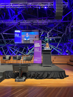 Moderator Sally Rugg at Rethinking Addiction in Australia